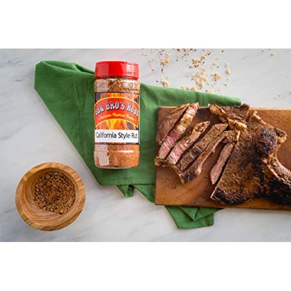 BBQ BROS RUBS {Western Style} - Ultimate Barbecue Spices Seasoni...