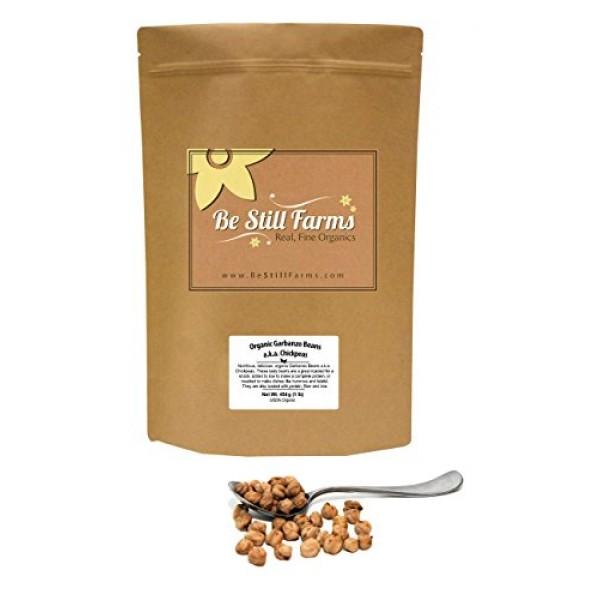 Be Still Farms Organic Garbanzo Beans 5lb Organic Dried Chickp...