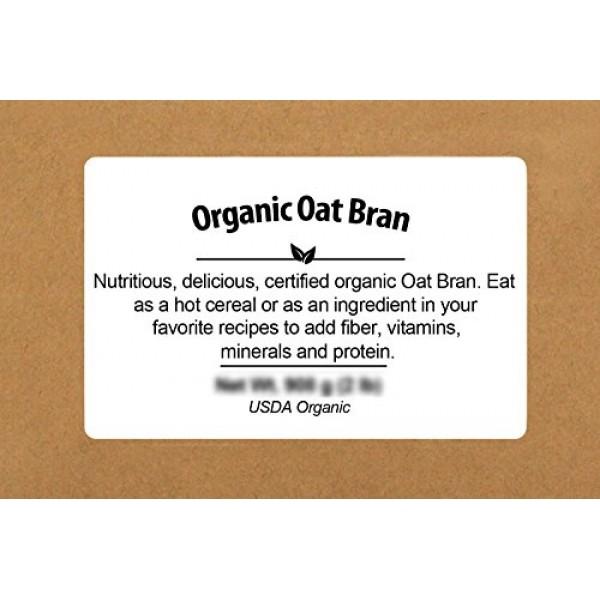 Be Still Farms Organic Oat Bran 5lb Similar to Wheat Bran Bulk...
