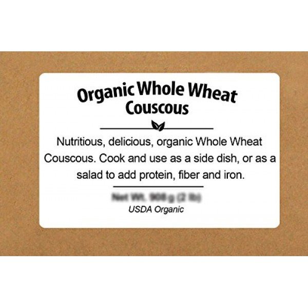 Be Still Farms Whole Wheat Couscous 1lb Ideal for Making Whole...