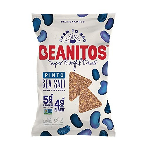 Beanitos Simply Pinto Bean Chips with Sea Salt Plant Based Prote...