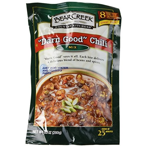 Bear Creek Country Kitchens Darn Good Chili Mix -- 9.8 oz bags...