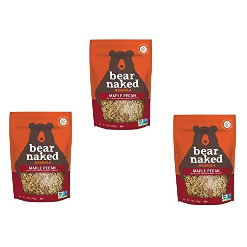 Bear Naked 100% Pure & Natural Maple Pecan Granola Cereal, 12 oz...