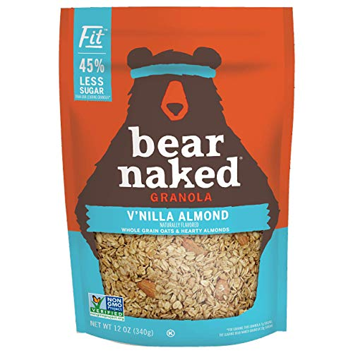 Bear Naked Vanilla Almond Fit Granola - Non-GMO, Kosher, Vegan -...