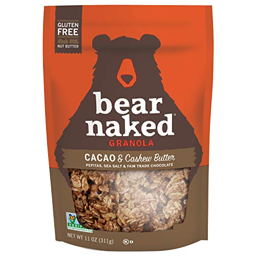 Bear Naked Cacao & Cashew Butter Granola - Gluten Free   Non-GMO...