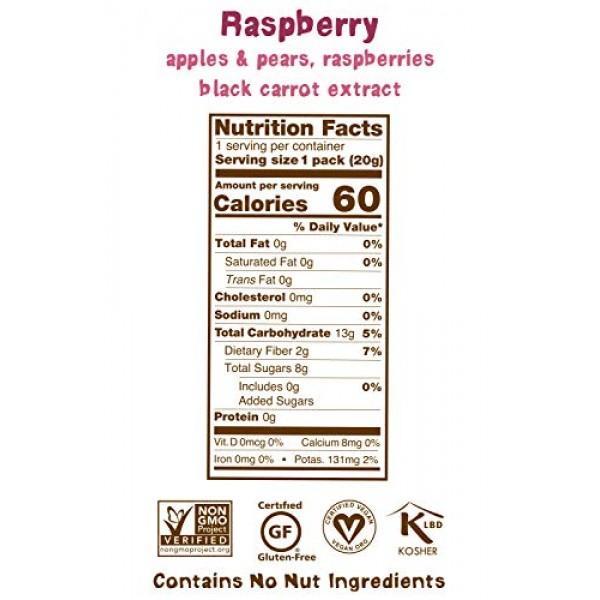 BEAR - Real Fruit Yoyos - Raspberry - 0.7 Ounce 12 Count - No ...