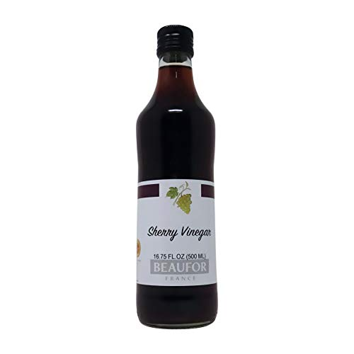 Beaufor- Aged Sherry Vinegar From Spain Jerez D.O.P 16.75 Ounce