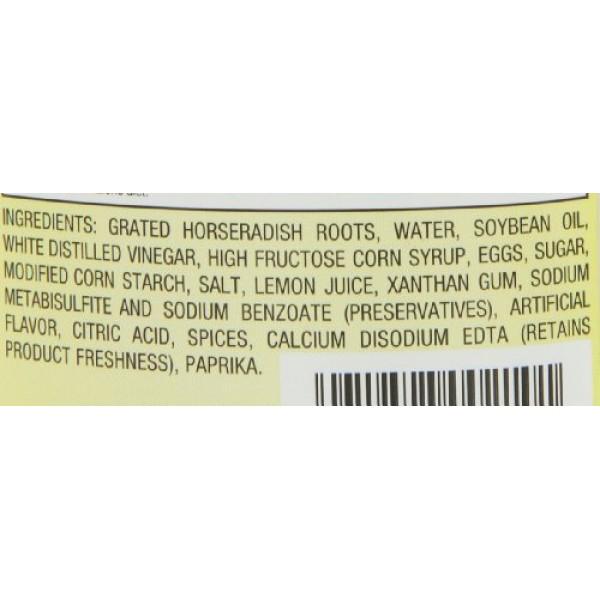 Beaver Brand Cream Style Horseradish, 12-Ounce Squeezable Bottle...
