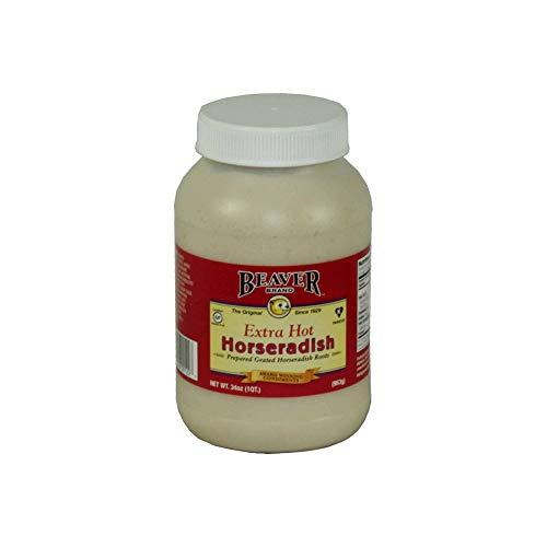 Beaver Extra Hot Horseradish, 2 Pound -- 6 per case.