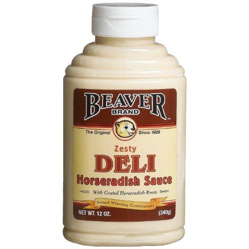 Beaver Brand Deli Horseradish Sauce, 12-Ounce Squeezable Bottle