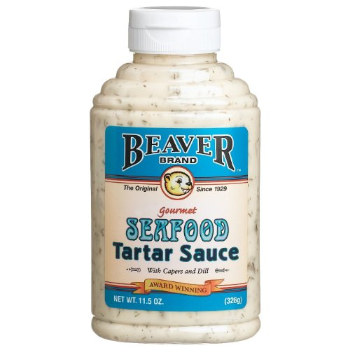 BEAVER Brand Seafood Tartar Sauce, 11.5 Ounce Squeezable Bottle(...