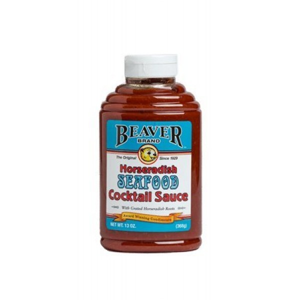 Beaver Horseradish Seafood Cocktail Sauce, 13 Ounce Pack of 6