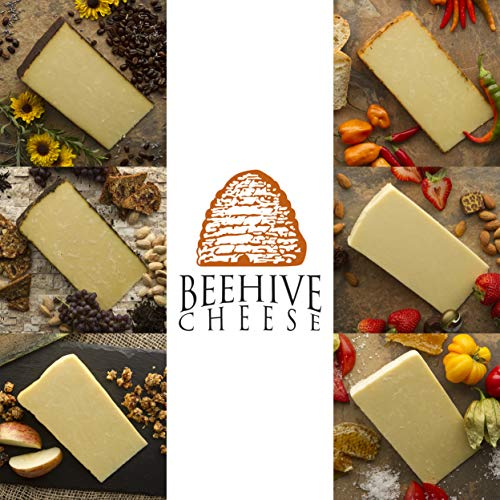 Beehive Cheese Sampler - Family of Cheese Gift Basket - Includes...