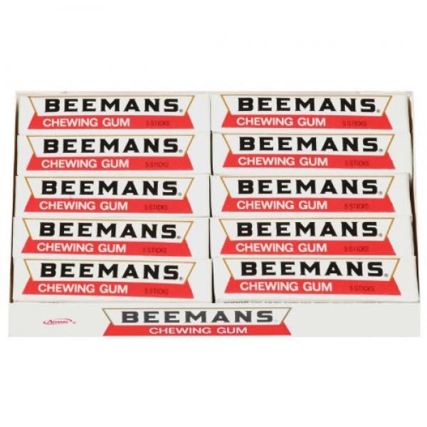 Beemans 5 Piece Chewing Gum, 20 count