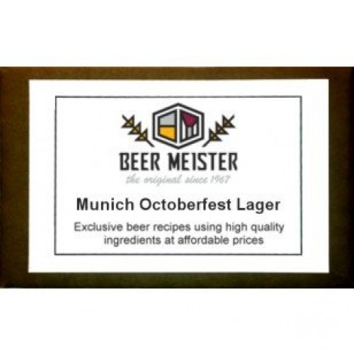 Munich Octoberfest Lager, Beer Extract Kits-Lager 5 Gallon