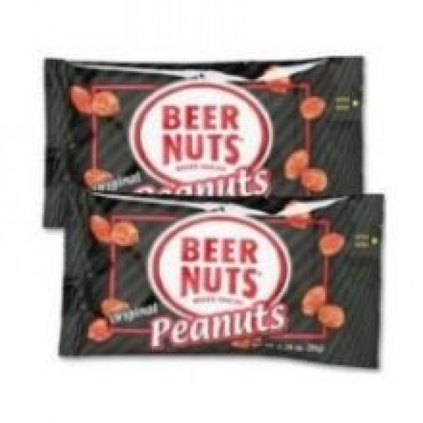 Beer Nuts Peanuts, Original, 2-Ounce Pack of 48