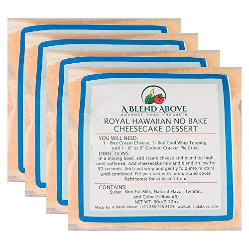 A Blend Above Royal Hawaiian No Bake Cheesecake Dessert Mix 4 P...