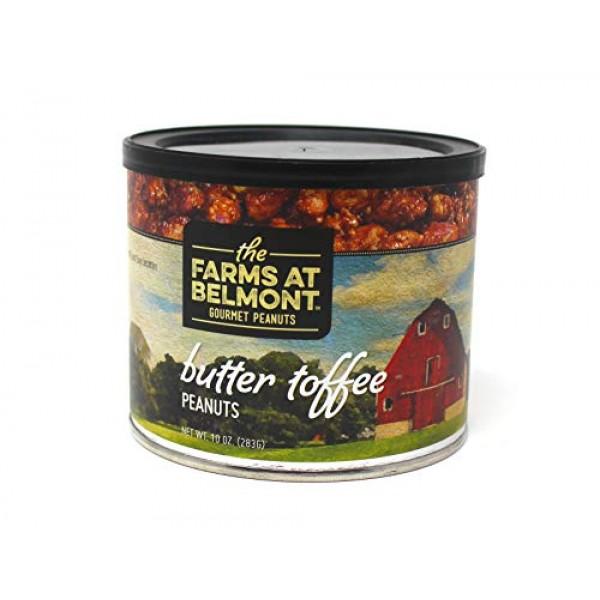 Belmont Peanuts Artisan Gourmet Virginia Peanuts Butter Toffee,...