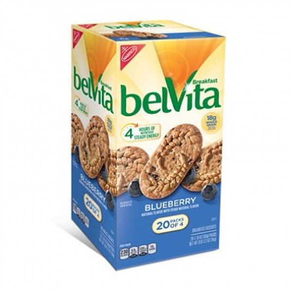 belVita Blueberry Breakfast Biscuits 20 ct.