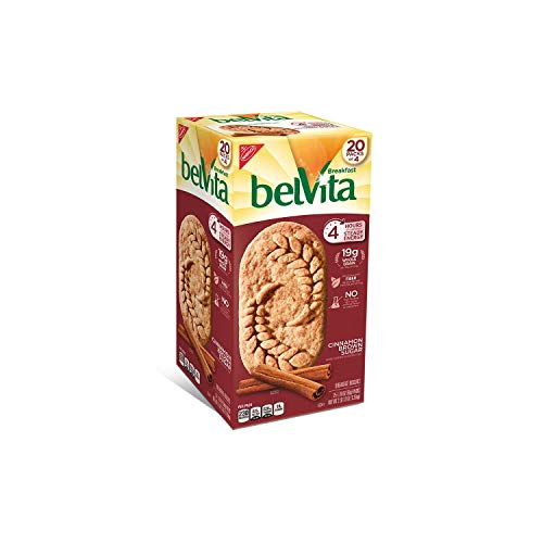 Belvita Brown Sugar Cinnamon Biscuits 1.76 oz. per pk, 20 pks....