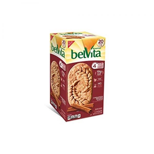 Belvita Brown Sugar Cinnamon Biscuits 1.76 oz. per pk, 20 pks....