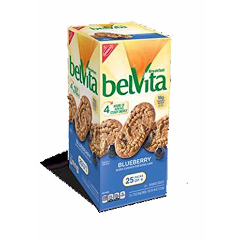 Belvita Blueberry Breakfast Biscuits, 25 ct.