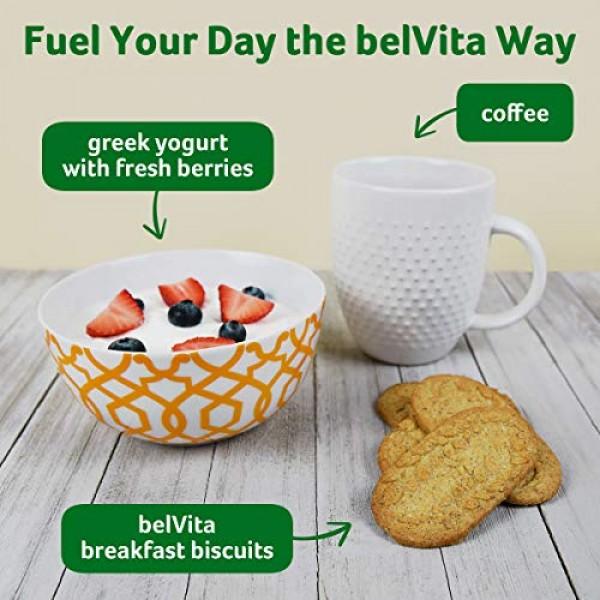 Belvita Blueberry Breakfast Biscuits, 6 Boxes of 5 Packs 4 Bisc...