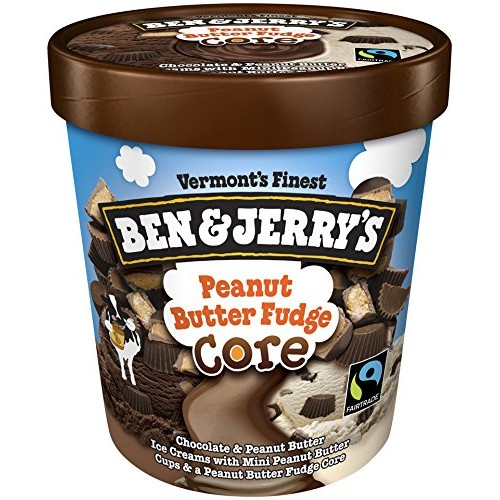 Ben & Jerrys - Vermonts Finest Ice Cream, Non-GMO - Fairtrade ...