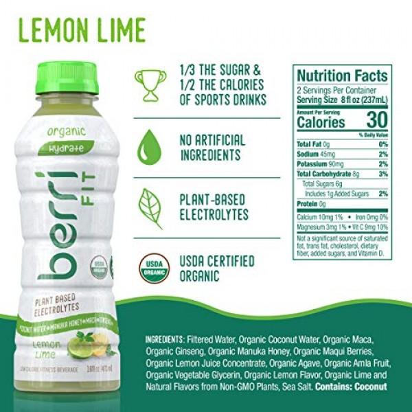 Berri Fit Dragon Fruit Organic Sports Drink Alternative with Nat...
