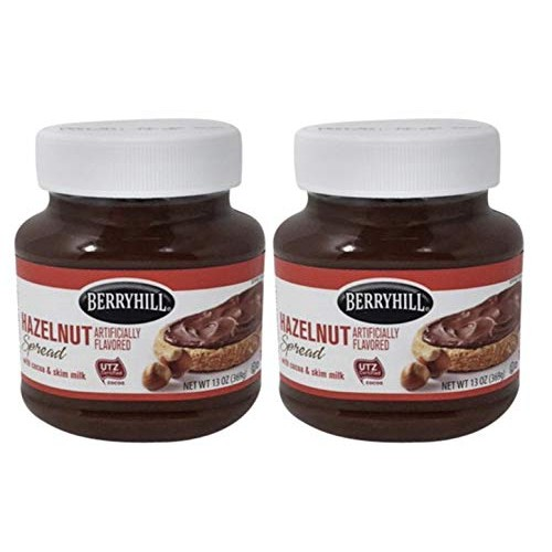 Berryhill Hazelnut Spread 13 Oz. (2 Containers)