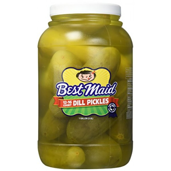 Best Maid Dill 12-16 ct Pickles, 128 oz