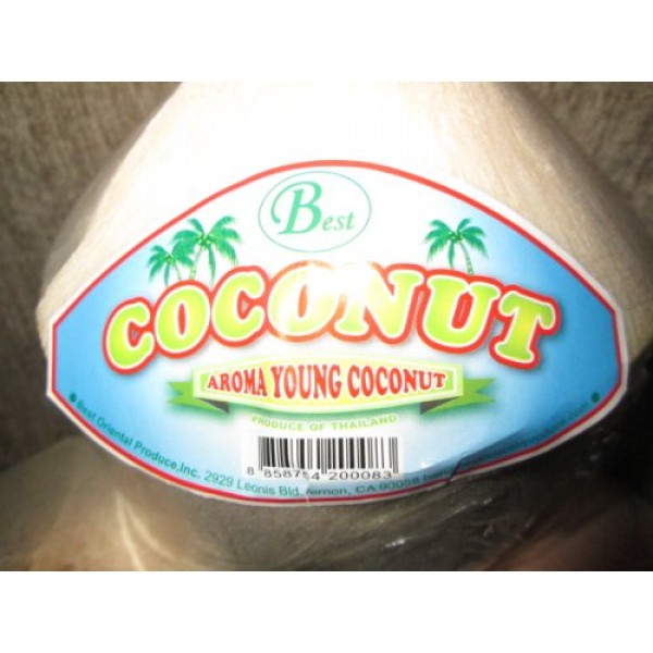 9 Best Fresh Young Aroma Coconuts