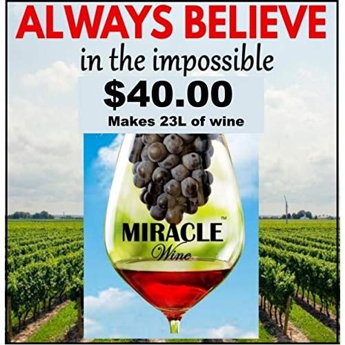 Wine kit California House blend white grape extraction
