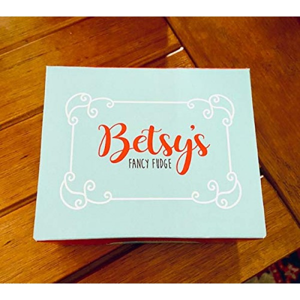 BETSYS FANCY FUDGE , CHOCOLATE, 1 Pound in 4 wrapped pieces, Ko...