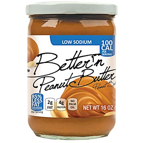 Better N Peanut Butter Low Sodium Low Fat Peanut Spread, 16 oz