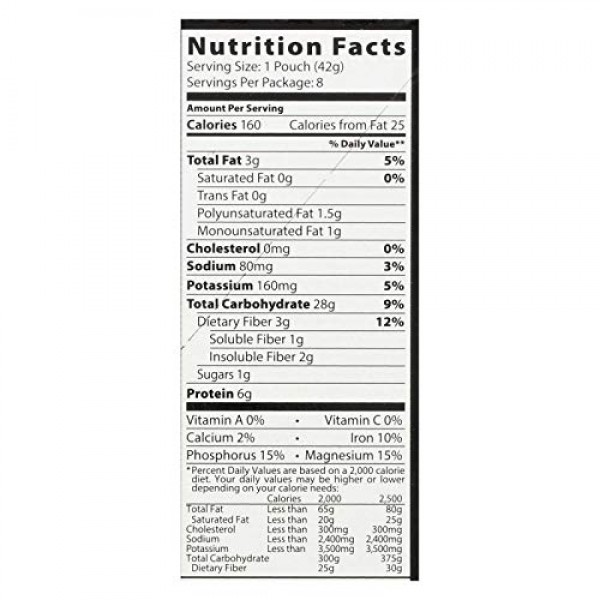 Better Oats Organic Multigrain Bare Instant Oatmeal with Flax Oa...