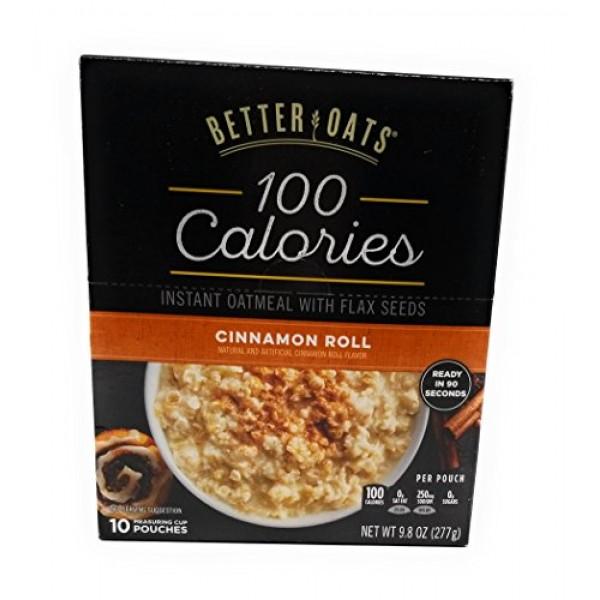 Better Oats OAT FIT Instant Oatmeal CINNAMON ROLL 9.8oz 3 Pack