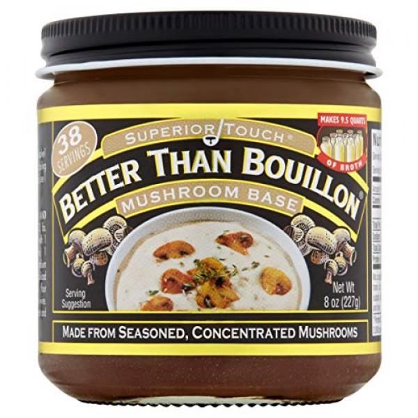 Better than Bouillon Mushroom Base, 8 Ounce