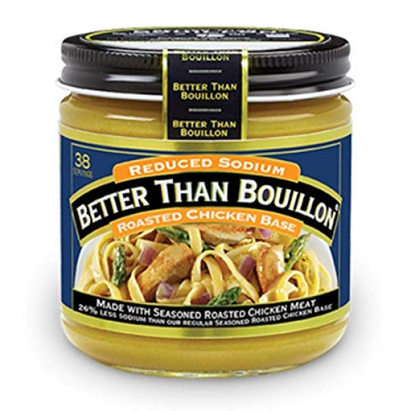 Better Than Bouillon Roasted Chicken Base Reduced Sodium 8 oz ...