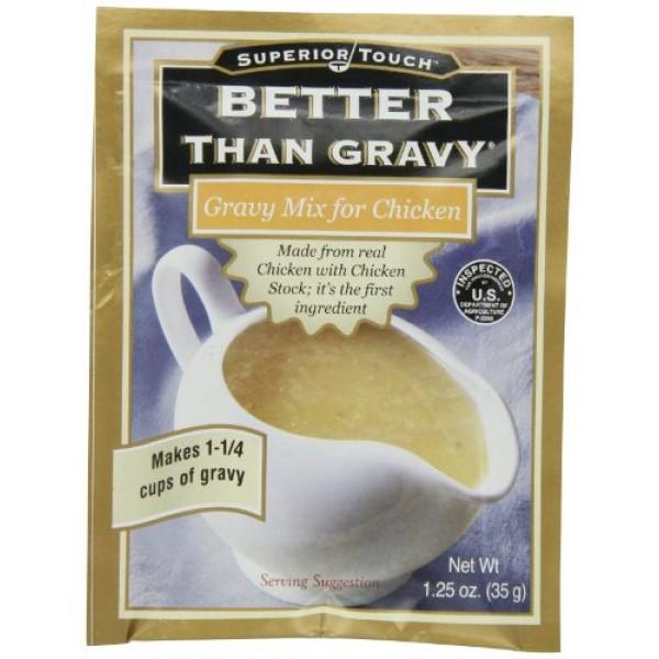 Better Than Gravy Gravy Mix Chicken, 1.2500-ounces Pack of12