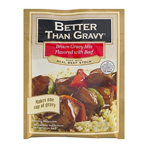 Better Than Gravy, Gravy Mix for Beef 1oz pack of 3
