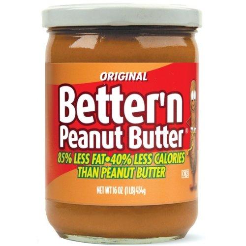 Better Peanut Spread, Original, 16 Ounce Pack of 3