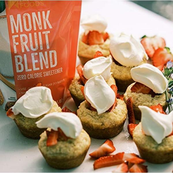 BetterBody Foods Monk Fruit Sweetener Blend, Sugar Substitute, 1...