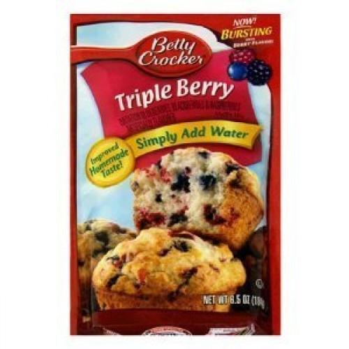 Betty Crocker Blueberry Muffin Mix 6.4 Oz Packet Pack of 6 Bl...