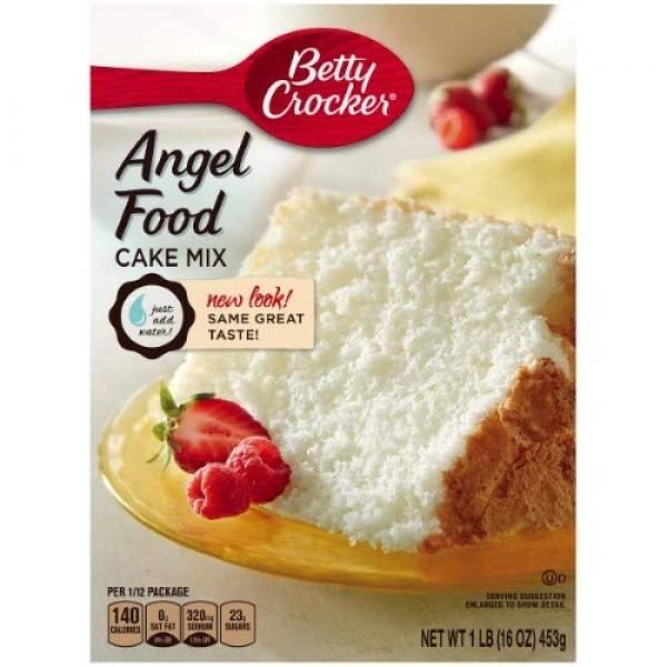 Betty Crocker Angel Food White Cake Mix Pack of 4