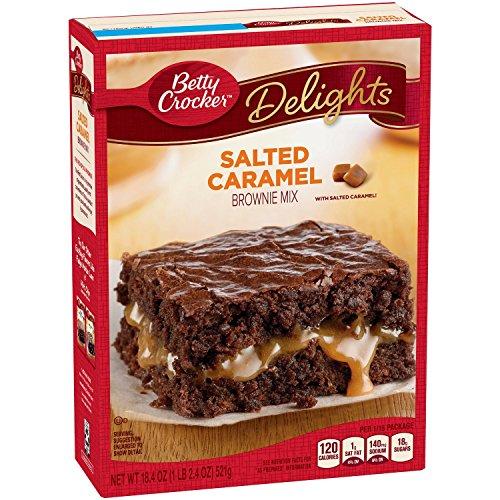 Betty Crocker Baking Delights Salted Caramel Brownie Mix, 18.39 ...