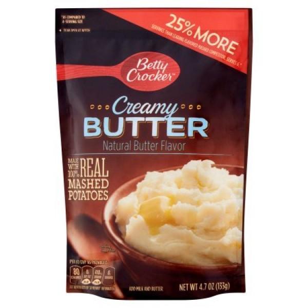 Betty Crocker Homestyle Creamy Butter Potatoes, 4.7 oz Pouch Pa...