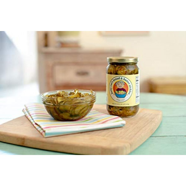 Betty Raes Bread & Butter Pickles