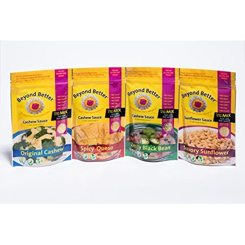 Beyond Better Cheese Alternative 4-variety pack Bundle One of E...