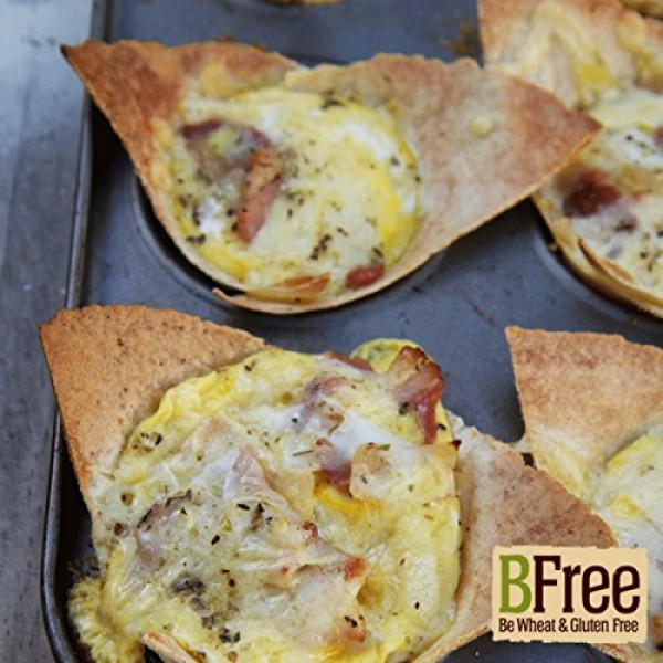 BFree Gluten-Free Wrap Tortillas Multigran Dairy-Free Wheat-Free...